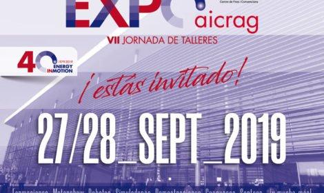 Expo Aicrag te espera a la vuelta del verano