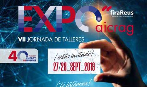 Expo Aicrag 2019 está al caer. ¿Te lo vas a perder?