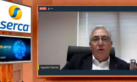"""""""Estoy orgulloso de Serca"""": Agustín García presenta el Serca Digital Meeting"""